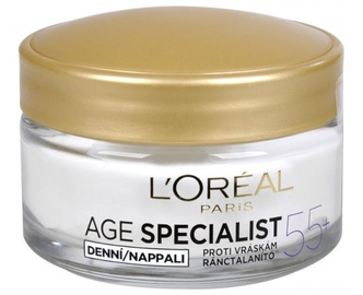 Sejas krēms L´Oreal Paris Age Specialist 55+ Day Cream, 50 ml
