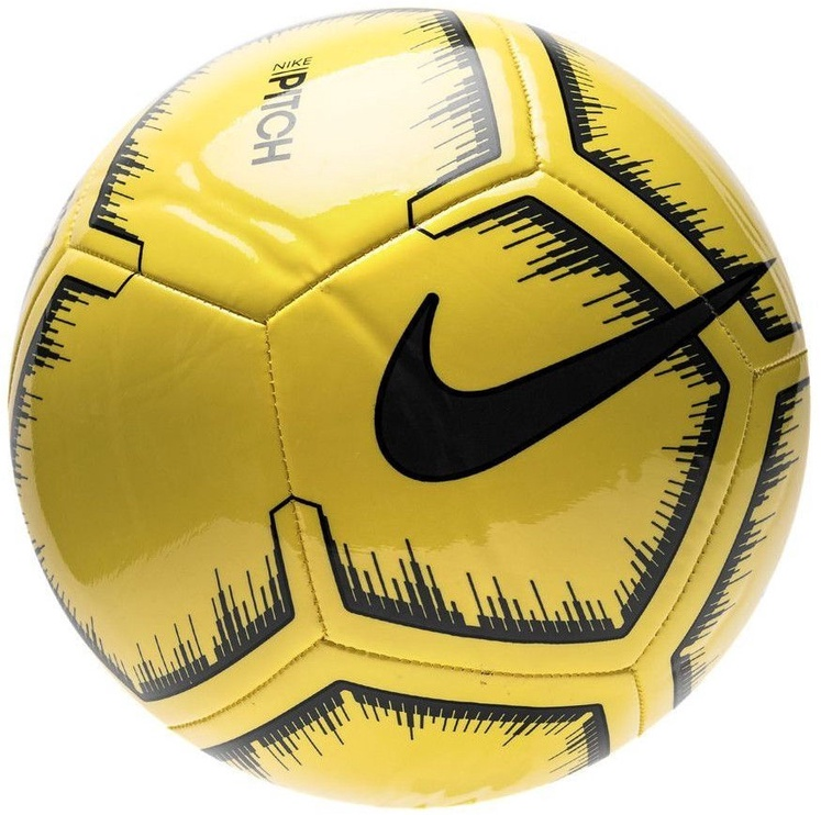 Nike LP Strike Football Yellow/Black Size 4