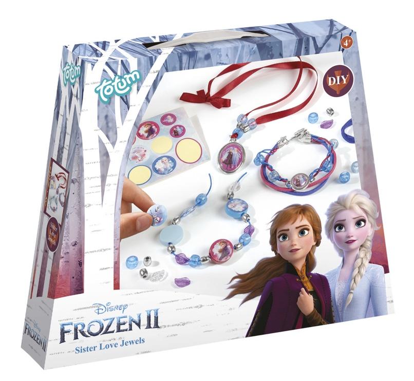 Apyrankių gaminimo rinkinys Totum Frozen II Sister Love Jewels 680661