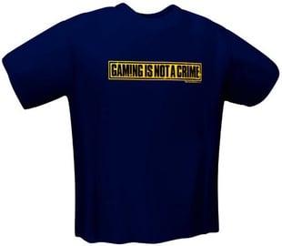 Футболка GamersWear Not A Crime T-Shirt Navy XL