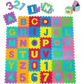 Puzle - paklājs Alphabet, 36 gab.
