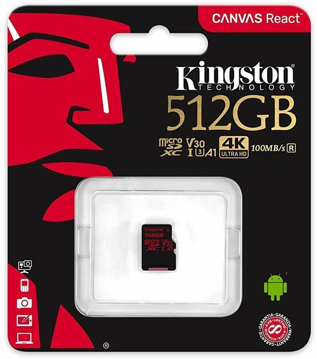 Kingston Canvas React 512GB