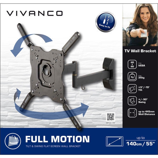 Vivanco TV Wall Bracket Motion BFMO 6040