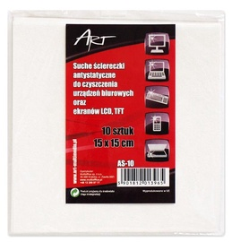 ART Anti-Static Dry Cloth 15 x 15cm 10 pcs