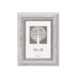 Nuotraukų rėmelis Natali, pilka, 10 x 15 cm