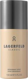 Vyriškas dezodorantas Karl Lagerfeld Classic, 150 ml