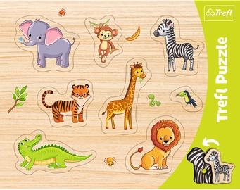 Puzle Trefl Frame Exotic Animals 31308, 7 gab.