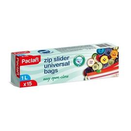 Külmutuskotid Paclan, lukuga, 1 l, 15 tk