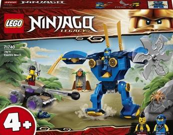 Конструктор LEGO Ninjago Электрический робот Джея 71740, 106 шт.