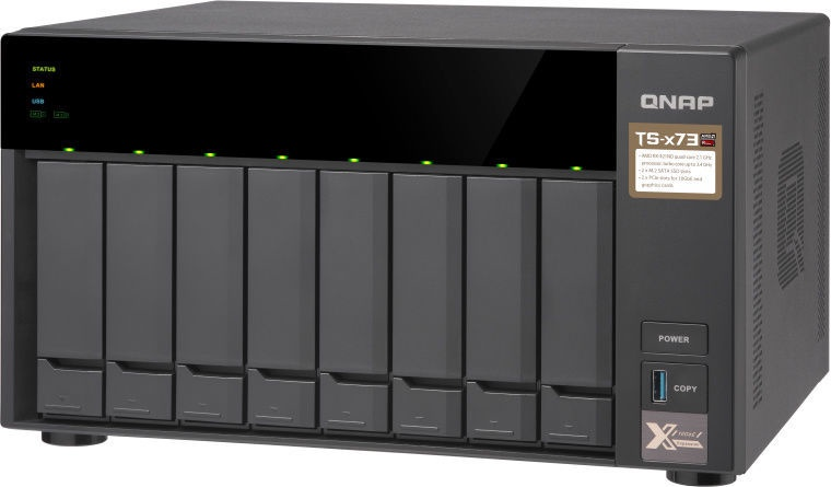 QNAP TS-873-8G 8-Bay