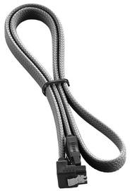 CableMod ModMesh Right Angle SATA 3 Cable 60cm Carbon