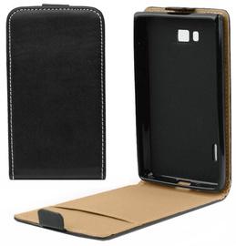 Forcell Slim 2 Flip Lux Case Samsung G386F Galaxy Core LTE Black