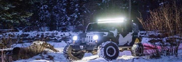 Tri-Row LED Light Bar 288W