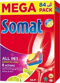 Henkel Somat All in One Lemon 84 Tabs