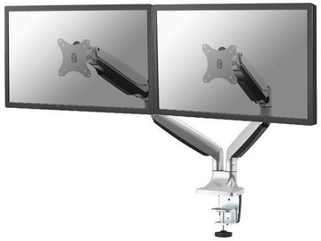 Monitoriaus laikiklis NewStar NM-D750DSILVER Flat Screen Desk Mount