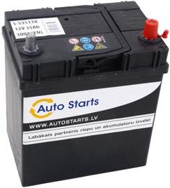 Аккумулятор Auto Starts, 12 В, 35 Ач, 300 а