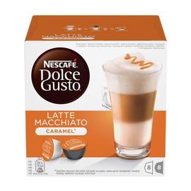 Kavos kapsulės NESCAFÉ® Dolce Gusto® Caramel Latte Macchiato 16 vnt