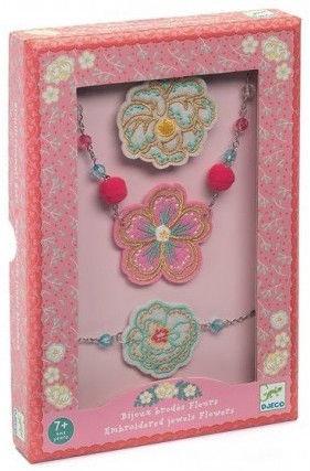 Djeco Embroidered Flower Jewels DJ06673