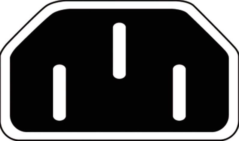 Assmann Cable IEC C14 / IEC C13 Black 1.2m