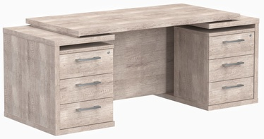Skyland Office Table TDT 197 Oak Kanyon