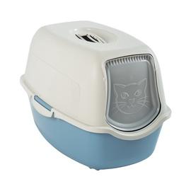 Tualetas katėms Rotho Cat Toilet 56x39x40cm Assortment, uždaras