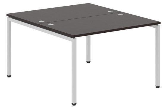 Skyland Xten-S Office Desk XWST 1414 Legno Dark/Aluminium