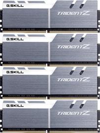 G.SKILL Trident Z Silver/White 64GB 3600MHz CL17 DDR4 Series KIT OF 4 F4-3600C17Q-64GTZKW