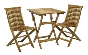 Комплект уличной мебели Home4you Finlay K13186 Acacia