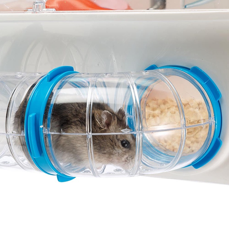 Ferplast Combi 01 Hamster Cage With Tubes White