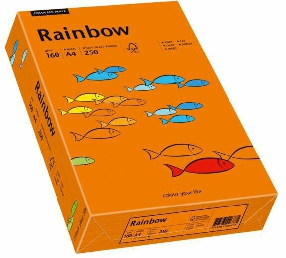 Papyrus Rainbow Paper A4 Bright Orange