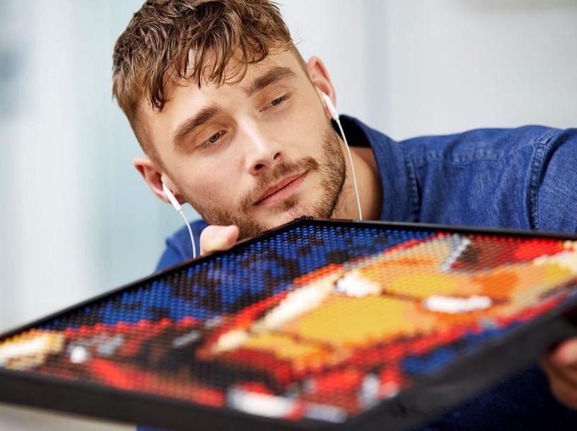 Constructor LEGO Art Marvel Studios Iron Man 31199