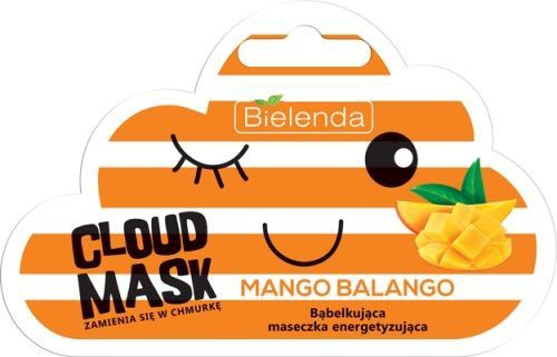 Bielenda Cloud Mask Moisturizing Bubble Mask Mango Balango 6g
