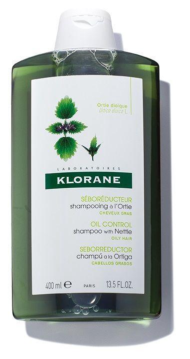 Klorane Seboregulating Treatment Shampoo With Nettle Extract 200ml