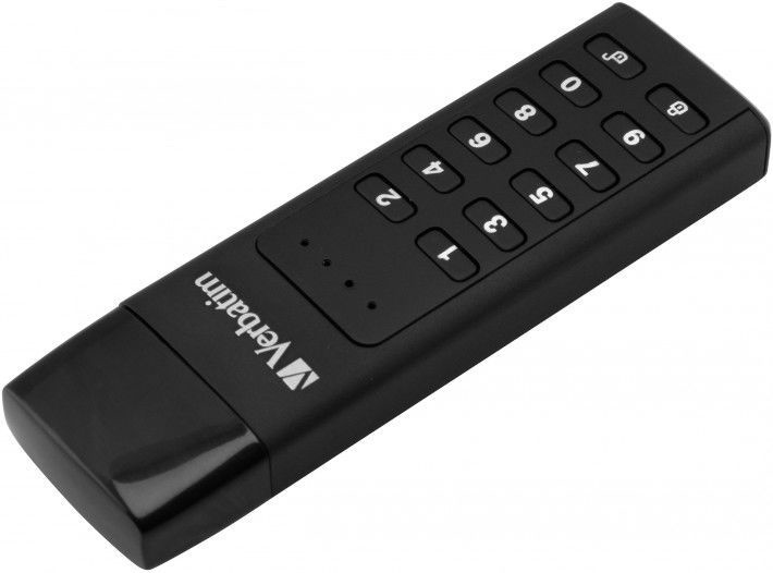 Verbatim Keypad Secure 64GB USB 3.1 Type-C