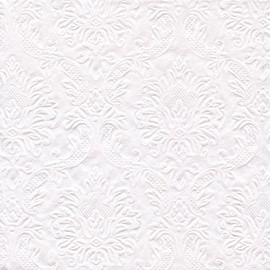 Herlitz Napkins White Ornament