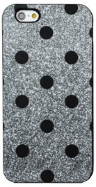 Forcell Soft Silicone 3D Back Case For Samsung Galaxy J3 J330F Black Dots