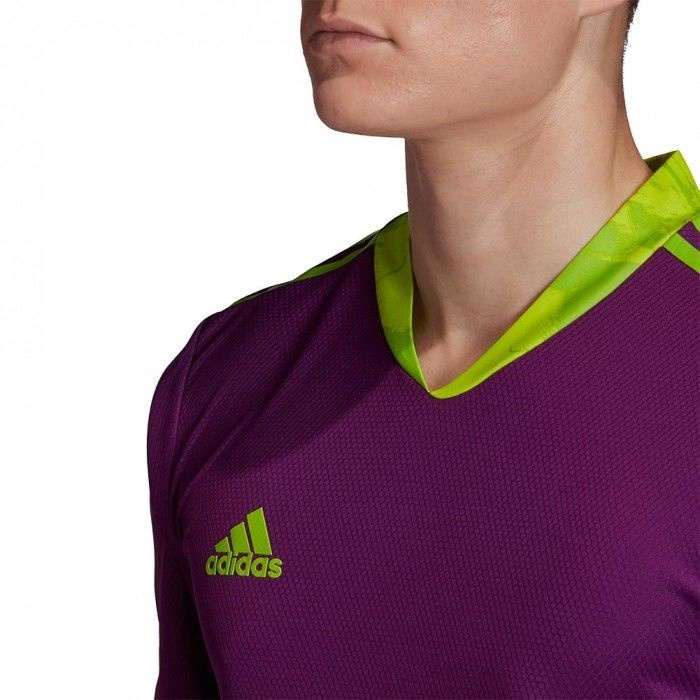 Футболка с длинными рукавами Adidas AdiPro 20 Goalkeeper Jersey Long Sleeve FI4194 Violet L