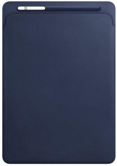 "Apple Leather Sleeve For 12.9"" iPad Pro Midnight Blue"