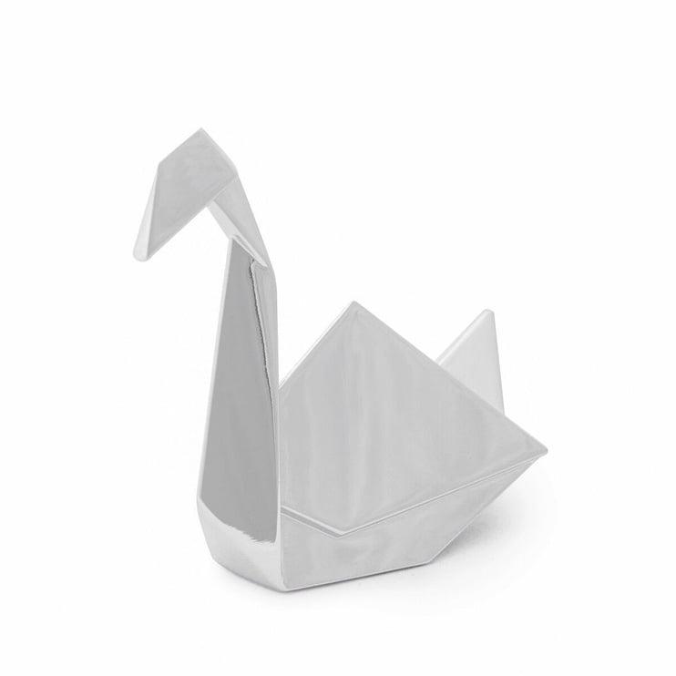 Umbra Origami Jewelry Ring Holder Swan