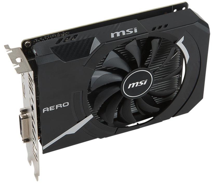 MSI GeForce GTX 1050 Ti AERO ITX 4GB GDDR5 PCIE GTX1050TIAEROITX4GOCV1
