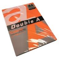 Цветная бумага Double A 80G A4 / 100 листов, яркие цвета