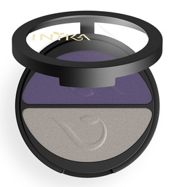 Inika Pressed Mineral Eye Shadow Duos 3.9g Purple Platinum