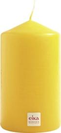 Eika Pillar Candle 14x8cm Yellow