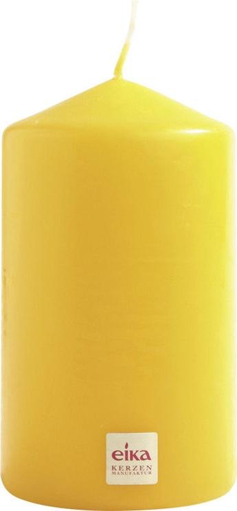 Свеча Eika Pillar Candle 14x8cm Yellow
