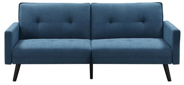 Halmar Folding Sofa With Ottoman Corner Blue