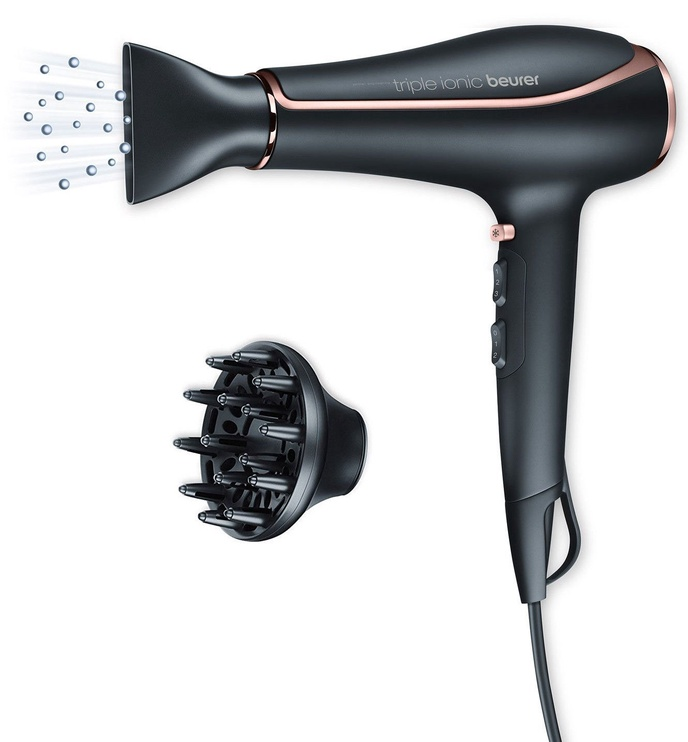 Plaukų džiovintuvas Beurer HC 80