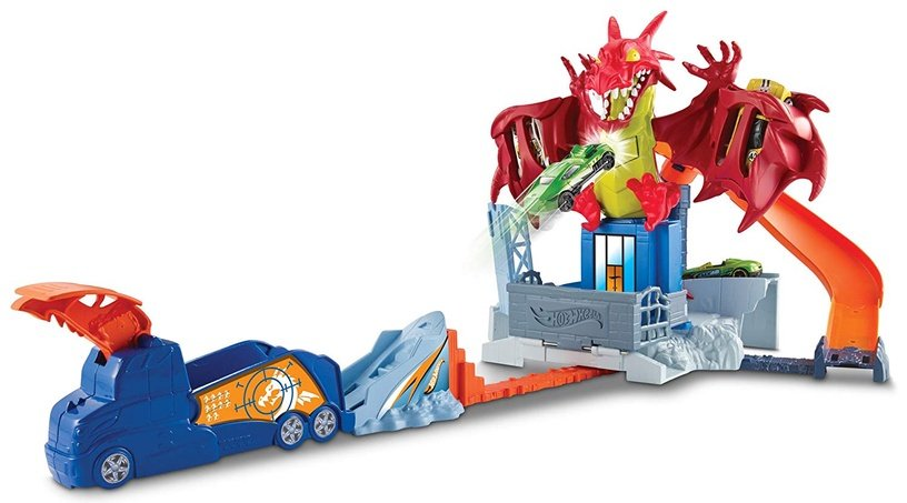 Hot Wheels draakoni rajakomplekt DWL04