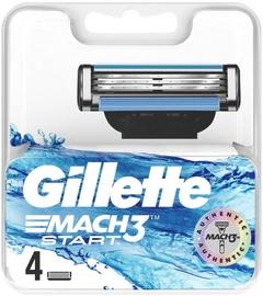 Gillette Mach3 Start Razor Blades 4Pcs