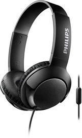 Philips Bass+ SHL3075 Headphones Black
