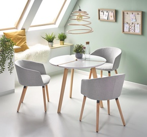 Halmar Dining Table Express White